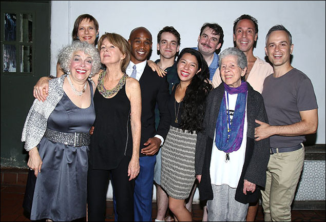 Katrin Hilbe, Marilyn Sokol, Lee Roy Rogers, Serge Thony, Andy Reinhardt, Rebeca Fong, Ian Gould, Nelson Avidon, Christopher Daftsios and Joan Beber