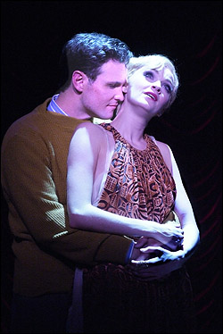 Jeff McLean and Lisa O'Hare in the 2011 Reprise Theatre Company production