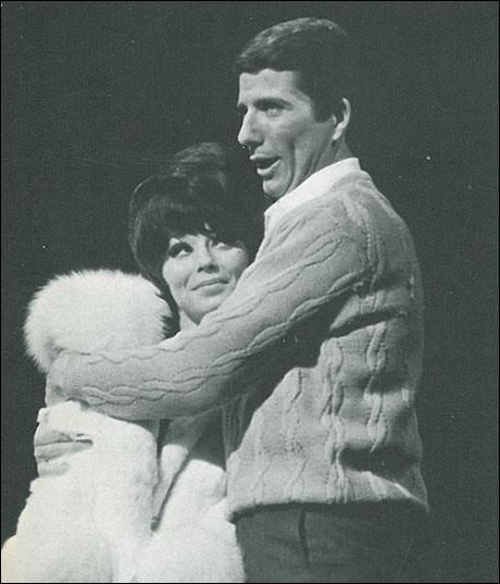 Jill Haworth and Bert Convy in the original Broadway production