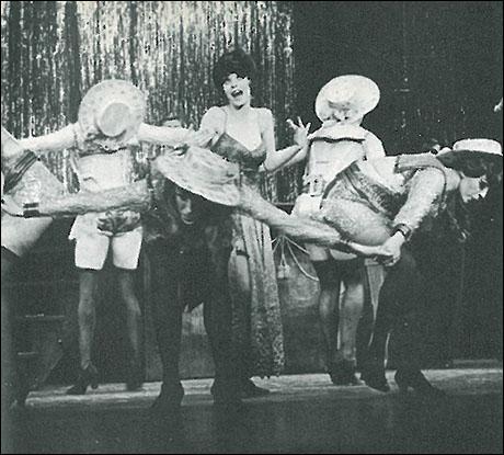 Jill Haworth in the original Broadway production