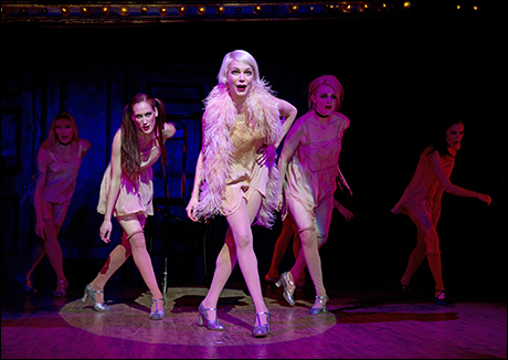 Michelle Williams and cast in the 2014 Broadway revival