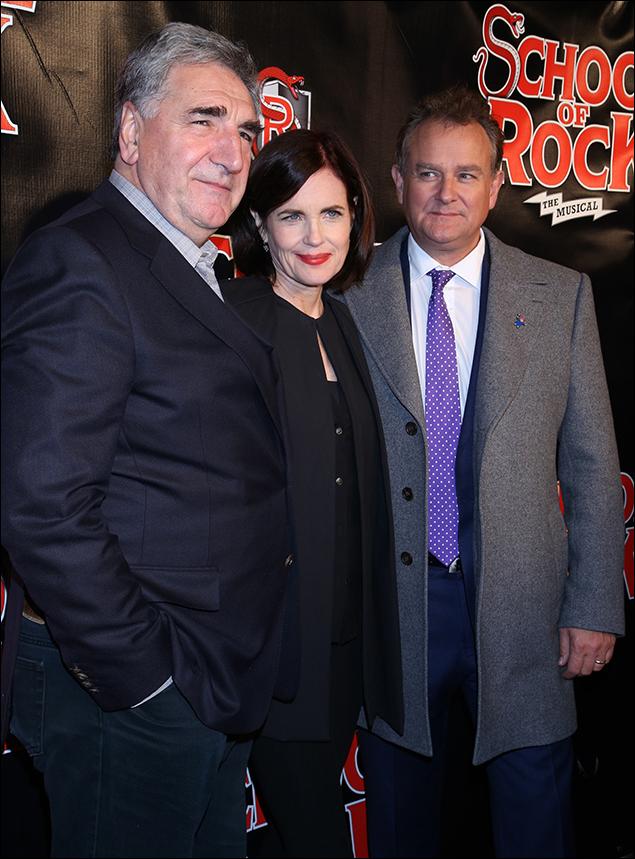 Jim Carter, Elizabeth McGovern and Hugh Bonneville