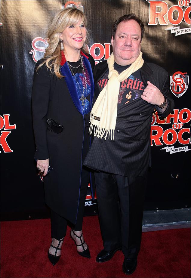 Margo McNabb Nederlander and Jimmy Nederlander