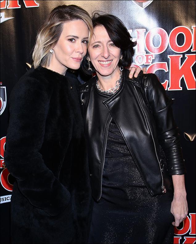 Sarah Paulson and Anna Louizos