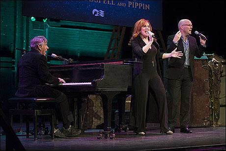 Stephen Schwartz, Debbie Gravitte and Scott Coulter