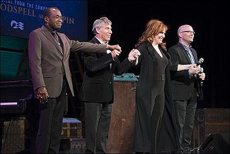 Ben Vereen, Stephen Schwartz, Debbie Gravitte and Scott Coulter