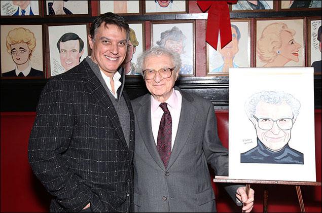 Robert Cuccioli and Sheldon Harnick