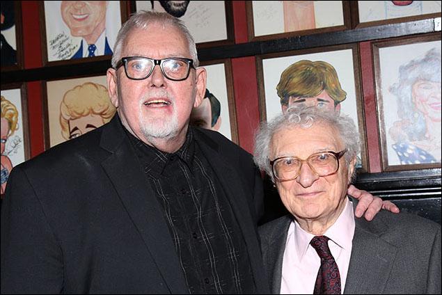 Jim Brochu and Sheldon Harnick