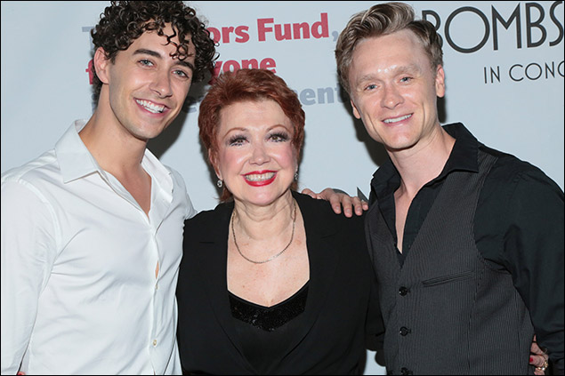 Reed Kelly, Donna McKechnie and Josh Canfield.