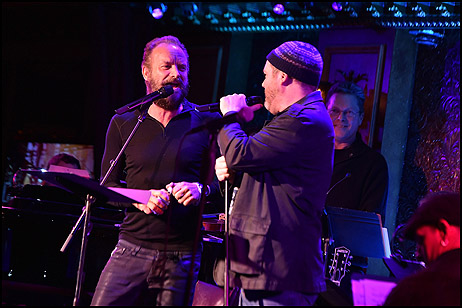 Sting and Sean Jenness