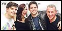 Andy Mientus, Krysta Rodriguez, Jeremy Jordan, Darren Criss and The Last Ship Hit 54 Below