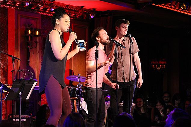 Lilli Cooper, Gabe Violett and Blake Daniel