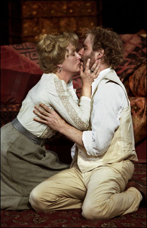 Meryl Streep and Kevin Kline in The Seagull at the Public