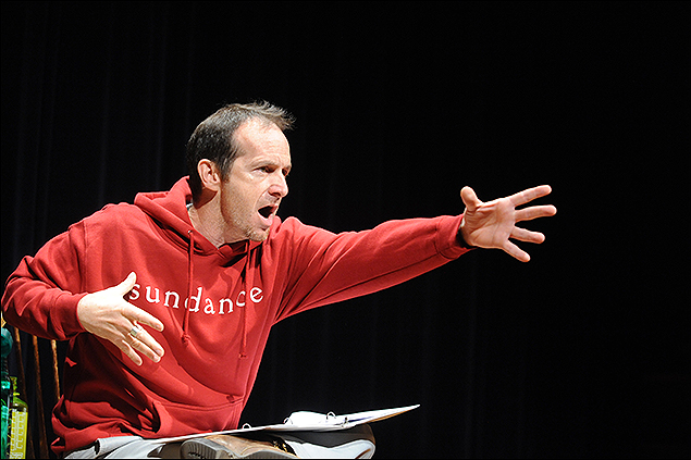 Theatre Lab Fellow and actor of An Iliad, Denis O'Hare at the 2009 Theatre Lab.