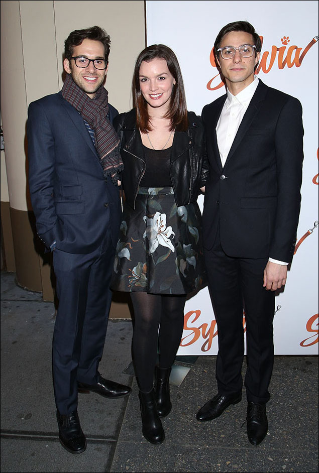 Adam Chanler-Berat, Jennifer Damiano and Gideon Glick