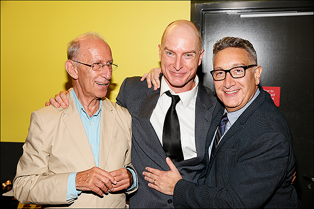 Playwright Martin Sherman, Hugo Armstrong and Director Moises Kaufman
