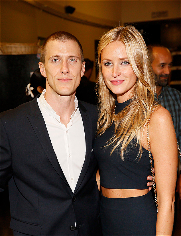 Patrick Heusinger and Polina Frantsena