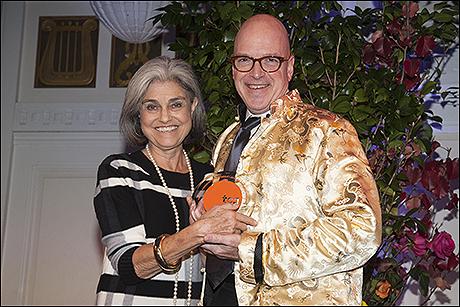 Judy Rubin and Ben Cameron