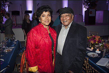 Phylicia Rashad and Wallace Nottage