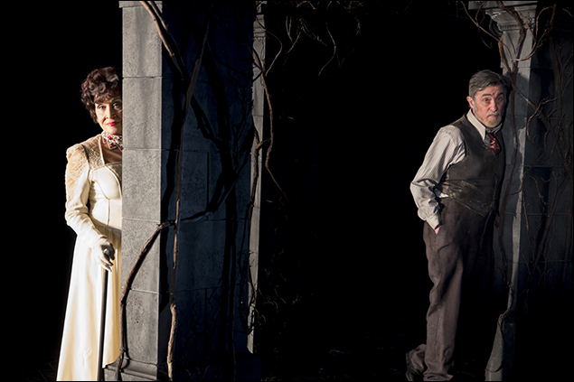 Chita Rivera and Roger Rees in The Visit, nominated for Best Musical