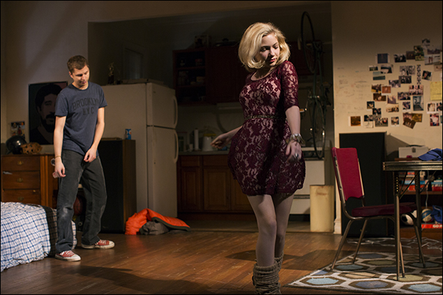 Michael Cera and Tavi Gevinson in This Is Our Youth, nominated for Best Revival of a Play