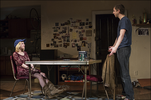 Tavi Gevinson and Michael Cera in  This Is Our Youth, nominated for Best Revival of a Play