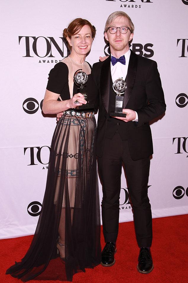 2015 Tony Award winners Bunny Christie and Finn Ross