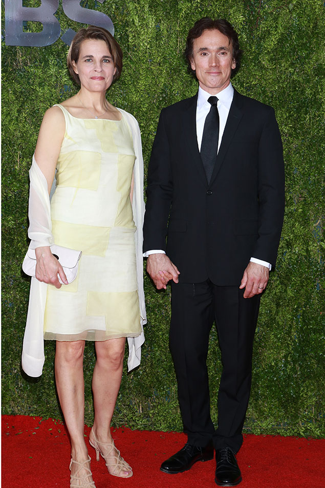 Emily Raymond and Ben Miles