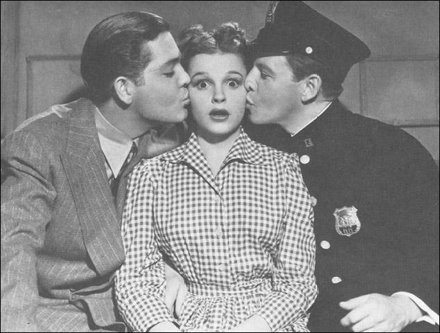"Judy Garland in ""Little Nellie Kelly"""