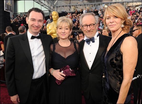Paul Lee, Deidre Lee, Steven Spielberg and Kate Capshaw
