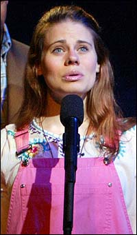 Celia Keenan-Bolger in <I>The 25th Annual Putnam County Spelling Bee</I>