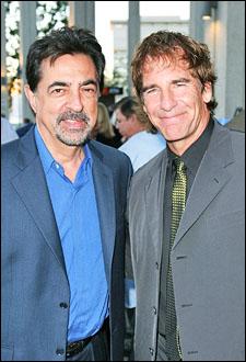 Joe Montegna and Scott Bakula