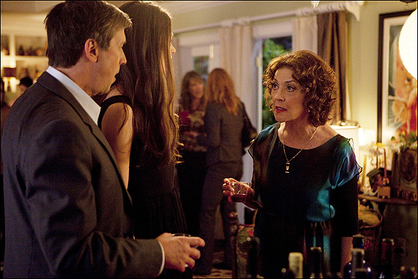 Alan Ruck, Sutton Foster and Kelly Bishop