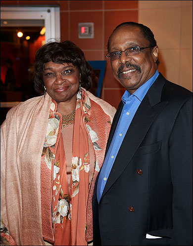 Hattie Winston and Harold Wheeler