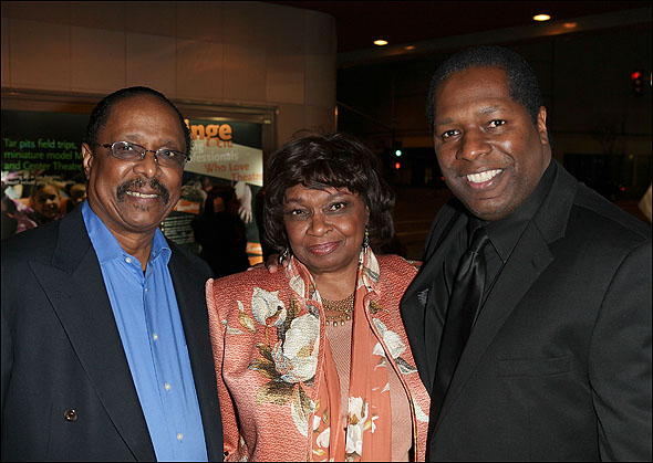 Harold Wheeler, Hattie Winston and Wren T. Brown
