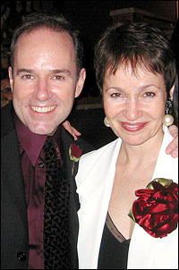 Composer Stephen Flaherty and lyricist Lynn Ahrens
