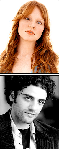 Lauren Ambrose and Oscar Isaac begin performances of <i>Romeo and Juliet</i>.