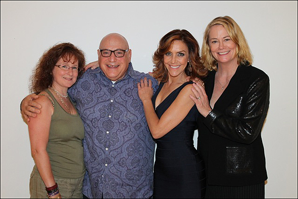 Shelley Bruce, Henry Kreiger, Andrea McArdle and Cybill Shepherd