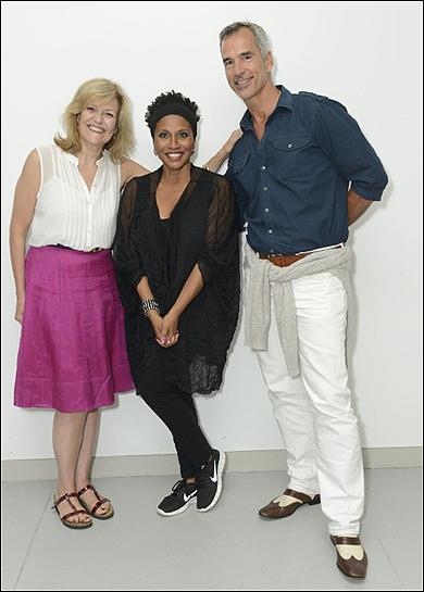 Karen Mason, Jenifer Lewis and Jerry Mitchell