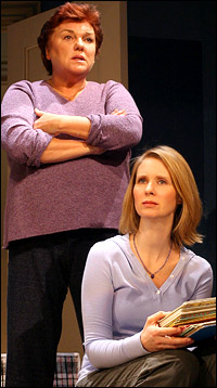 Tyne Daly and Cynthia Nixon in possible Pulitzer contender <i>Rabbit Hole</i>.
