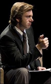 Michael Sheen stars in <i>Frost/Nixon</i>.