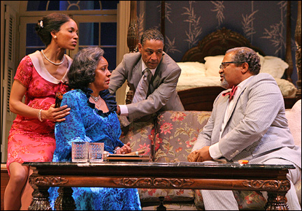 Lisa Arrindell Anderson, Phylicia Rashad, Giancarlo Esposito and Count Stovall