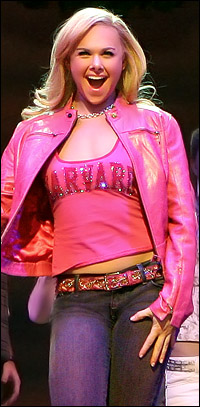 Laura Bell Bundy in <I>Legally Blonde</I>.