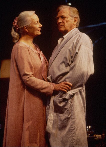 Rosemary Harris and George Grizzard