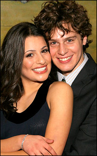 <I>Spring Awakening</I>'s Lea Michele and Jonathan Groff will be among the hosts of the Easter Bonnet Competition.
