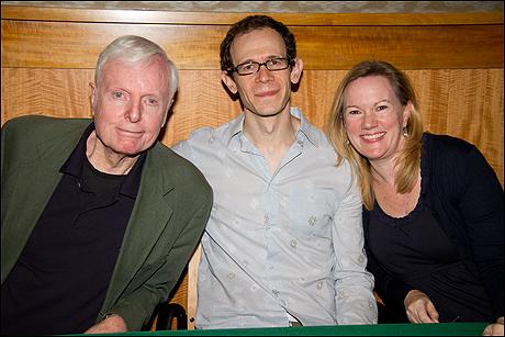John McMartin, Adam Godley and Kathleen Marshall