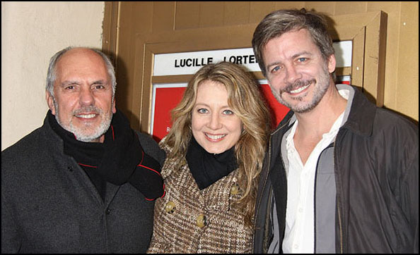 Michael Cristofer, Jennifer Mudge and Chris Henry Coffey