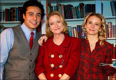 Manuel Herrera, Eve Plumb and Sarah Saltzberg