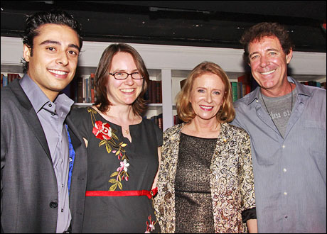 Manuel Herrera, Abigail Grotke, Eve Plumb and Barry Williams