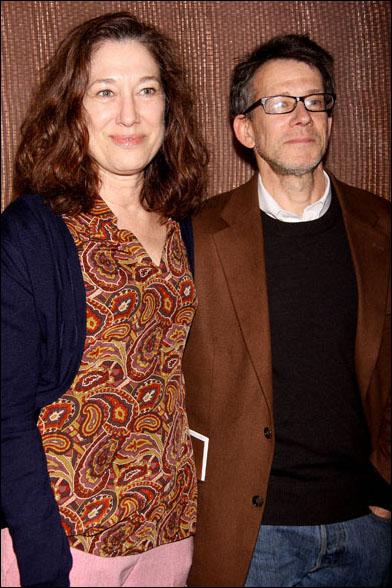 Meg Gibson and Keith Reddin